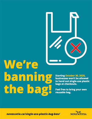 were banning the bag poster